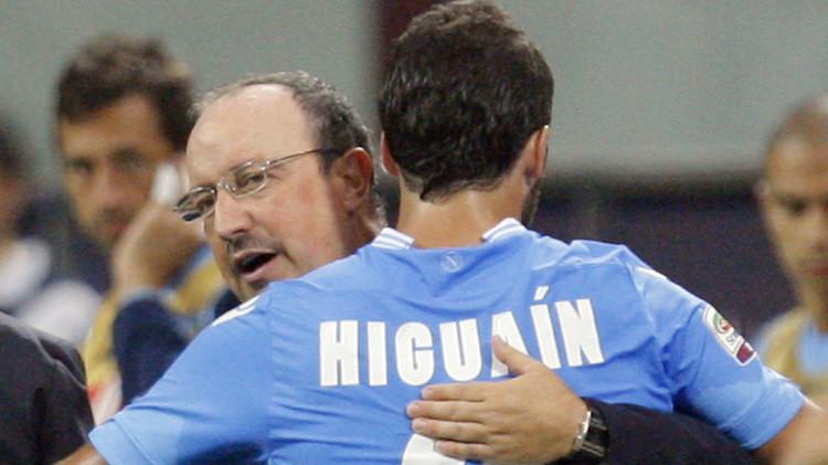 الاتحاد الإيطالي يوقف بينيتيز مباراة ويغرم هيغواتن 10 آلاف يورو