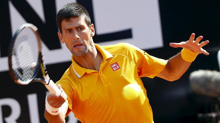 ديوكوفيتش إلى الدور الثالث لبطولة روما