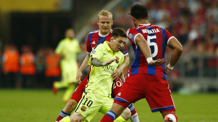 (فيديو) بايرن يتغلب على برشلونة والبلوغرانا إلى نهائي دوري الأبطال