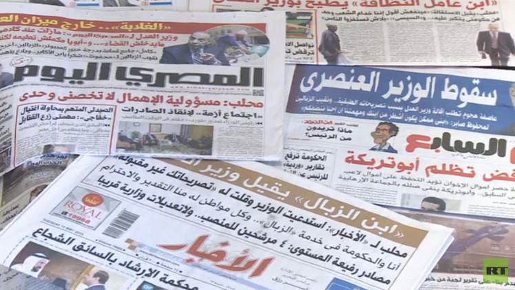 رئيس الوزراء المصري يقبل استقالة وزير العدل