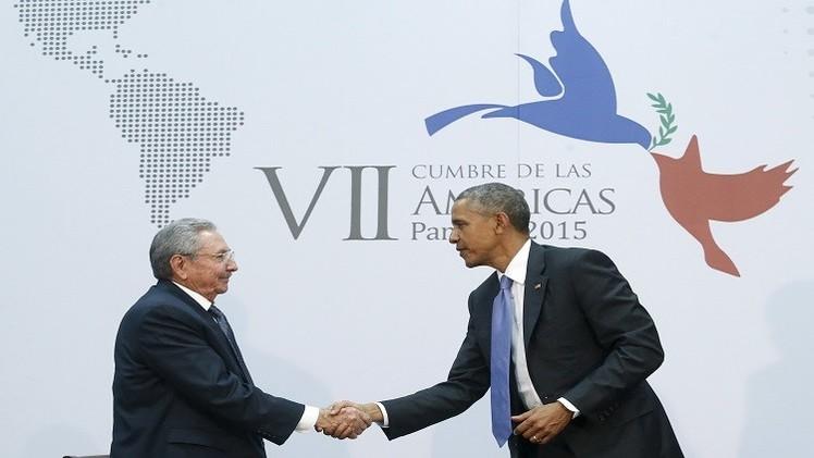 كاسترو: المفاوضات مع واشنطن تتقدم ومن الممكن تطبيع العلاقات الدبلوماسية بين البلدين