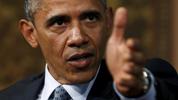 أوباما: الطريق لإنهاء الصراع الفلسطيني الإسرائيلي مازال طويلا وشاقا