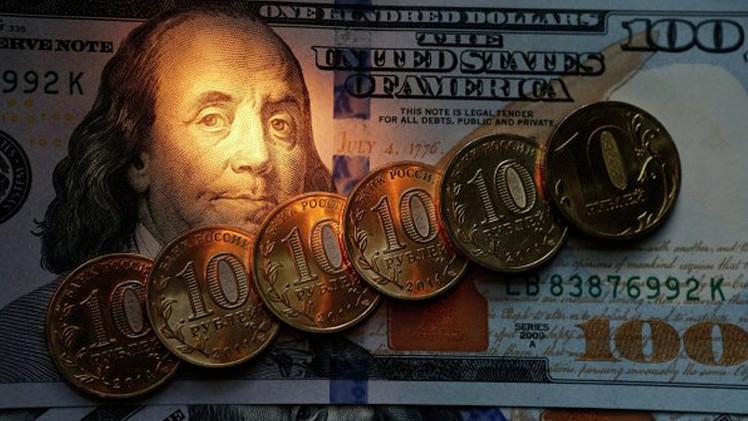 الروبل عند أعلى مستوى أمام الدولار منذ نهاية نوفمبر 2014