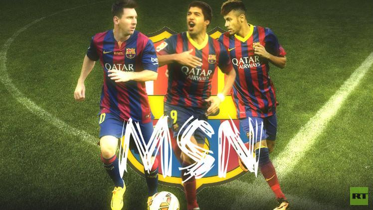 ثلاثي برشلونة الهجومي MSN.. طوفان يصعب إيقافه