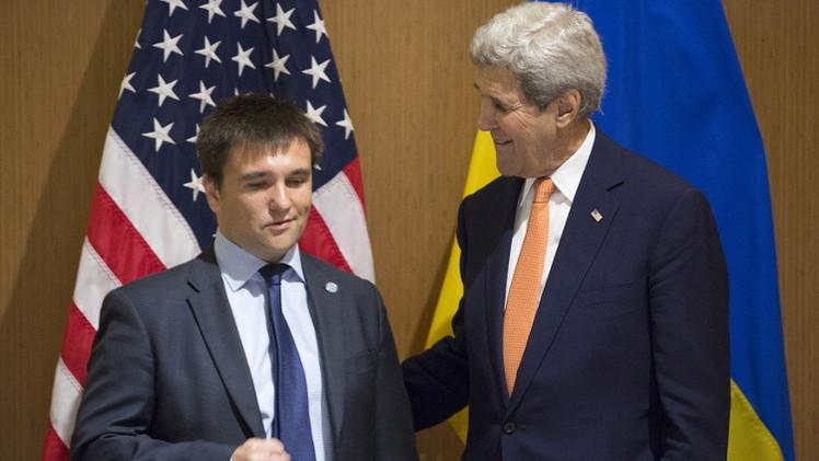 الغرب يحاول فرض الأمر الواقع في أوكرانيا وكييف تدفع إلى عسكرة المنطقة