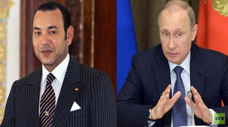 موسكو: الرئيس الروسي يدعو العاهل المغربي لزيارة روسيا