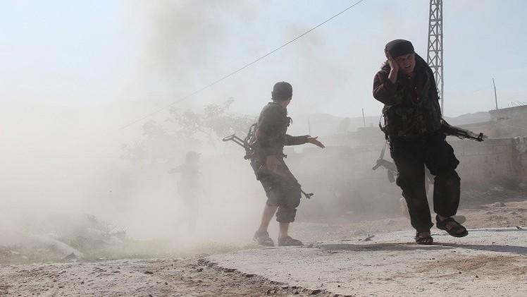 اشتباكات عنيفة بين القوات السورية وتنظيم