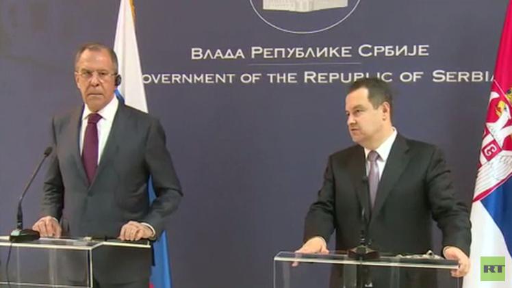 لافروف: لا يمكن تنفيذ اتفاقات مينسك من دون حوار مباشر بين طرفي النزاع الأوكراني