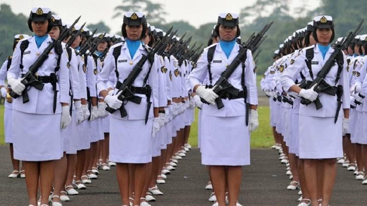 المنظمات الحقوقية تطالب اندونيسيا بحظر اختبارات العذرية للمجندات