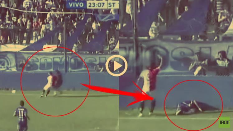 (فيديو) لاعب أرجنتيني شاب يلقى حتفه في مباراة كرة قدم