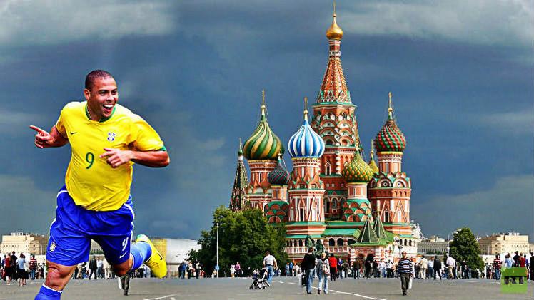 الظاهرة رونالدو يزور موسكو لتطوير كرة القدم