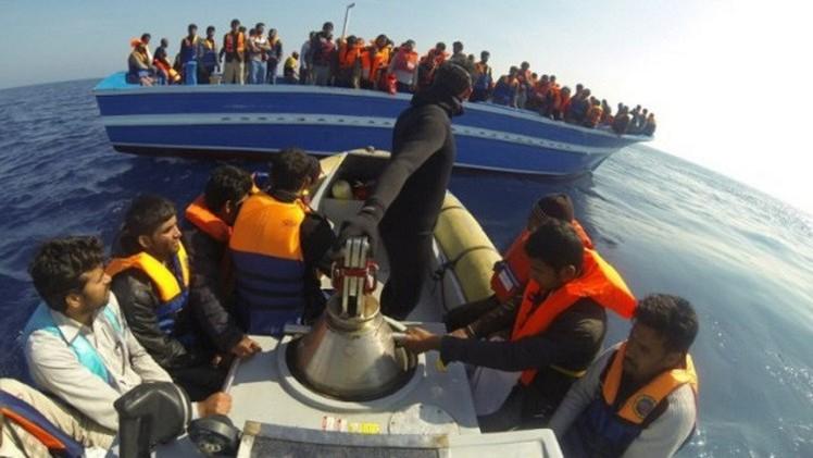 تركيا..إنقاذ 113 مهاجرا غير شرعي قبل غرق مركبهم