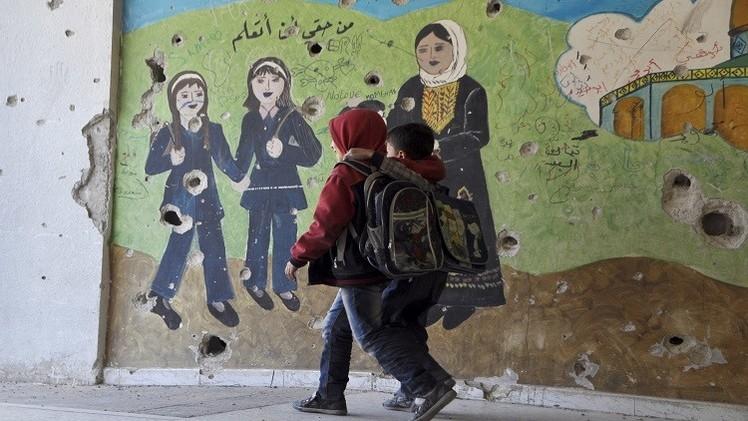 السماح لـ 155 طالبا في مخيم اليرموك بإجراء امتحاناتهم