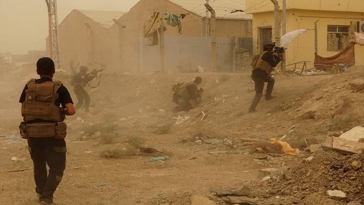 الجيش العراقي يستعيد السيطرة على مناطق احتلها