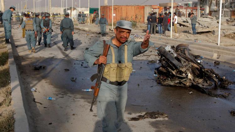 قتلى في تفجير سيارة مفخخة قرب مطار كابل (فيديو)