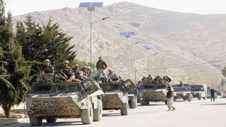 الجيش اللبناني يقتل مسلحين في عرسال