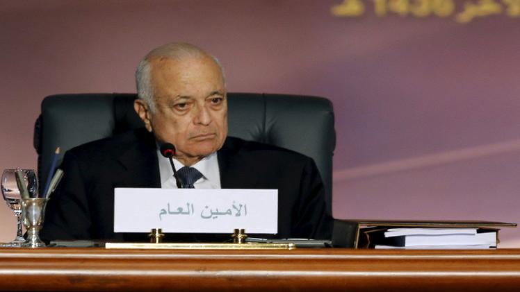العربي قبل لقائه دي مستورا يؤكد دعم الجهود الدولية لحل الأزمة السورية