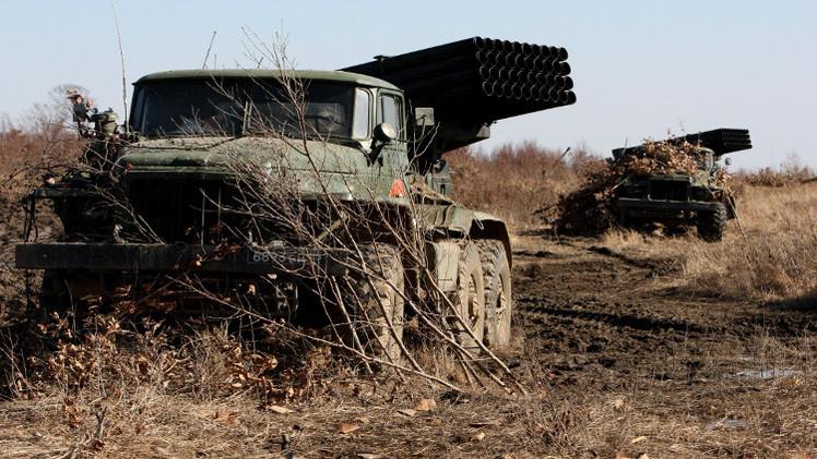 رصد نقل صواريخ أوكرانية باتجاه دونيتسك