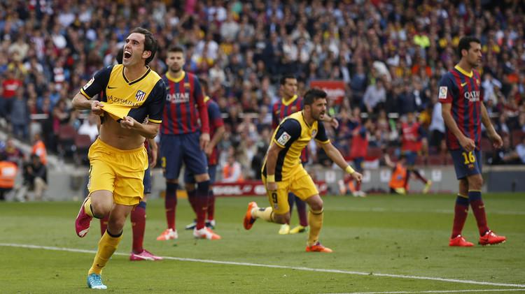 فيديو .. تشكيلة أتلتيكو مدريد وضيفه برشلونة