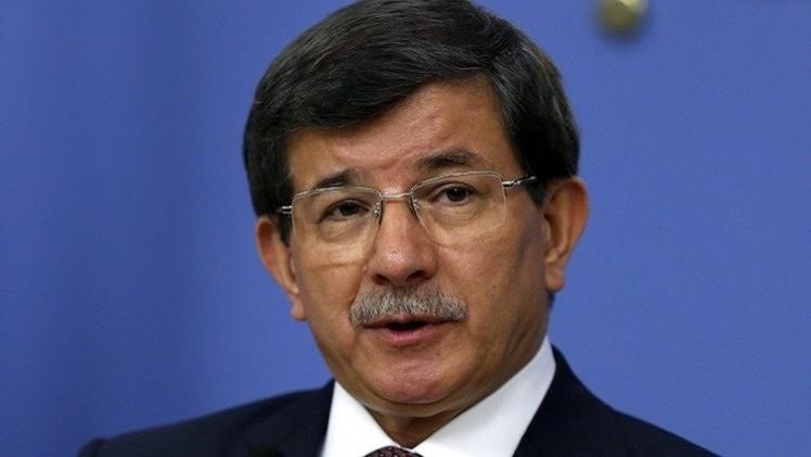 رئيس الوزراء التركي يدين الانفجارين بمبنى حزب تركي معارض