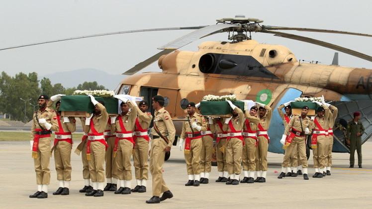 إسلام آباد: سبب سقوط المروحية عطل فني