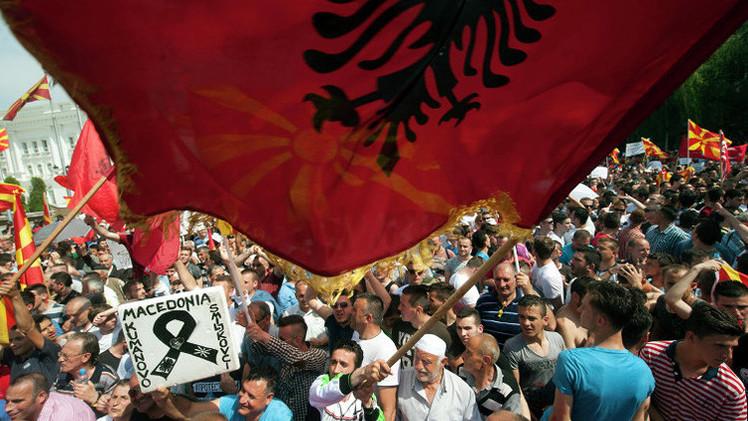 موسكو ترى في أحداث مقدونيا