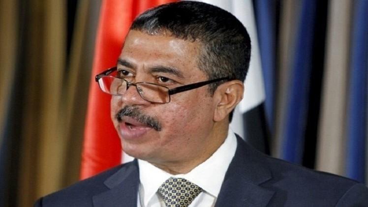 بحاح: لا محادثات مع الحوثيين قبل تطبيق القرار الأممي