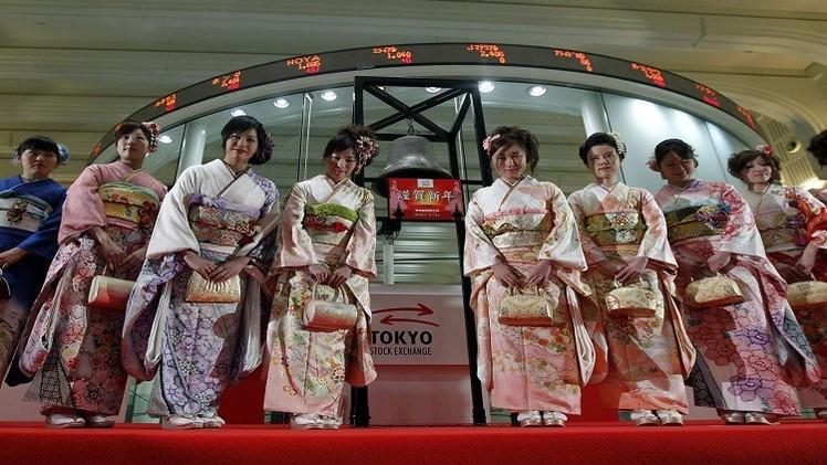 مؤشر نيكاي الياباني يغلق على أعلى مستوى في 15 عاما