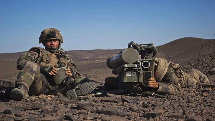 القوات الفرنسية في مالي تعلن تصفيتها لقائدين من