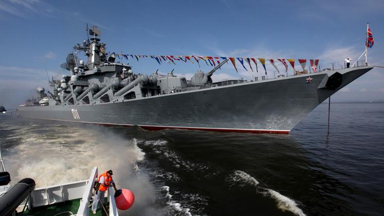 أسطول المحيط الهادئ الروسي يحتفل بعيده السنوي