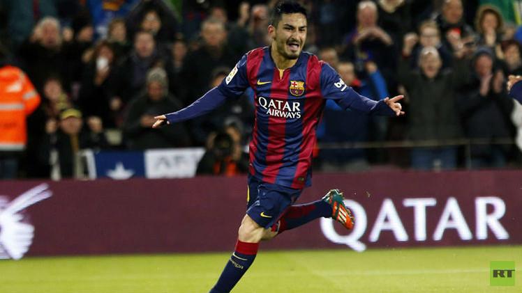 إلكاي غوندوغان هدف برشلونة الأول