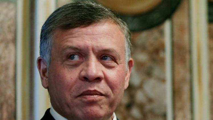 الملك الأردني:
