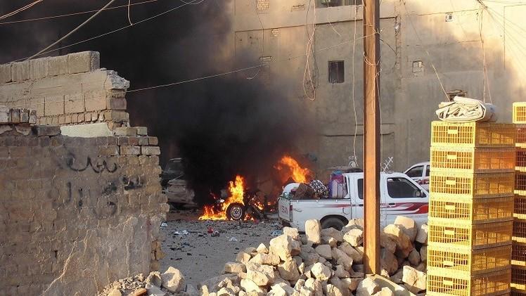 جهاديان فرنسيان ينفذان تفجيرين انتحاريين قرب بلدة حديثة غرب العراق