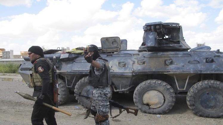 الجيش العراقي يحرز تقدما على