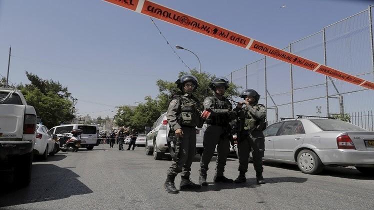 تعرض إسرائيليين للطعن في القدس الشرقية