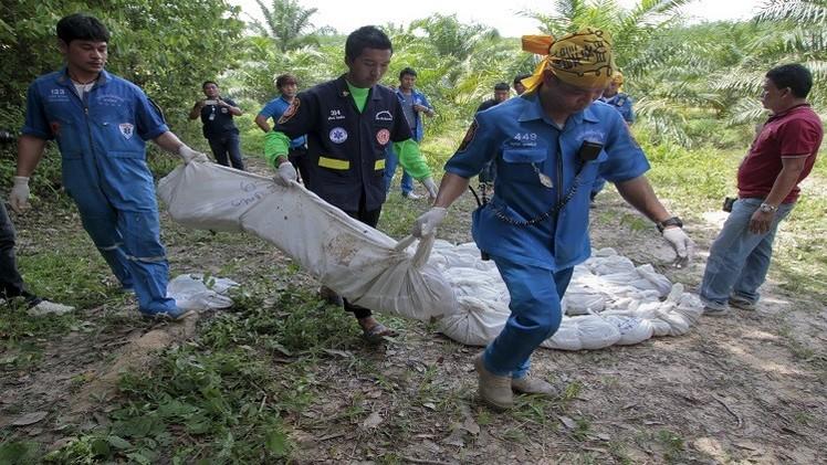 العثور على مقابر جماعية في ماليزيا تعود لمهاجرين