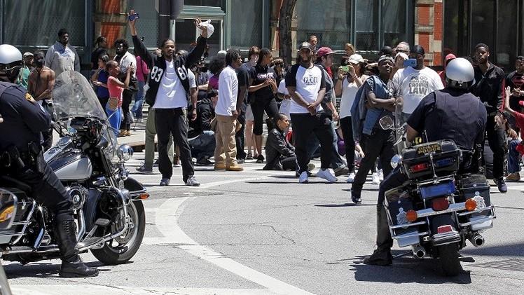 اعتقال 71 شخصا في كليفلاند الأمريكية خلال احتجاجات على تبرئة شرطي أبيض