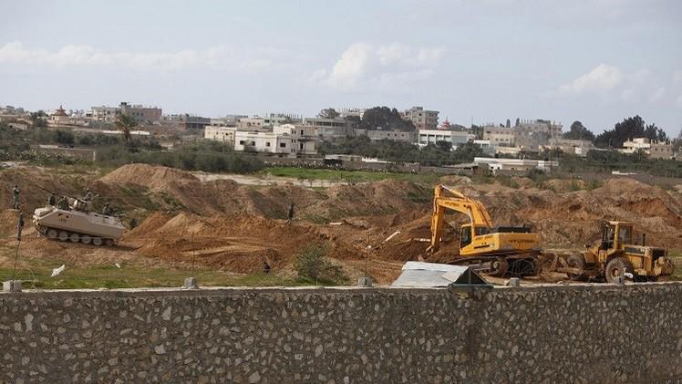 الجيش المصري يدمر 521 نفقا على الحدود مع غزة