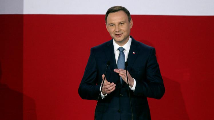 بوتين يهنئ دودا بالفوز في انتخابات الرئاسة البولندية ويأمل في إقامة علاقات طيبة