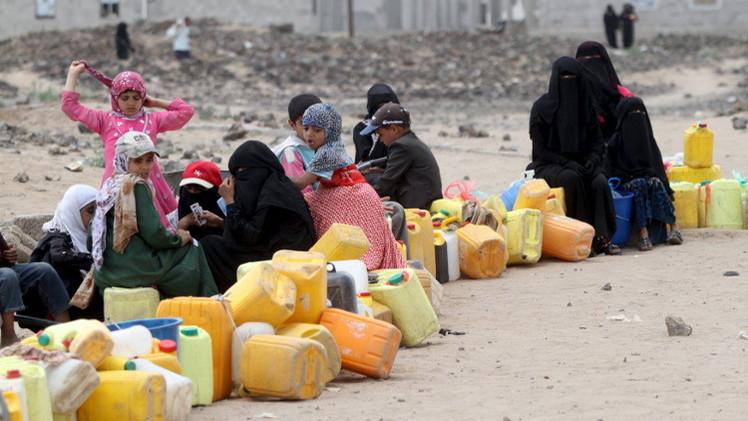 منظمة إغاثية: 16 مليون يمني محرمون من مياه الشرب