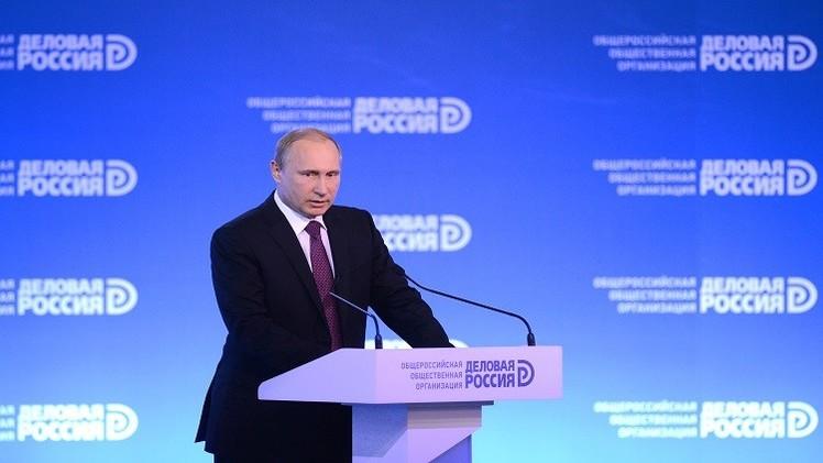 بوتين يدعو قطاع التصدير لاستغلال مرحلة العقوبات وانخفاض الروبل