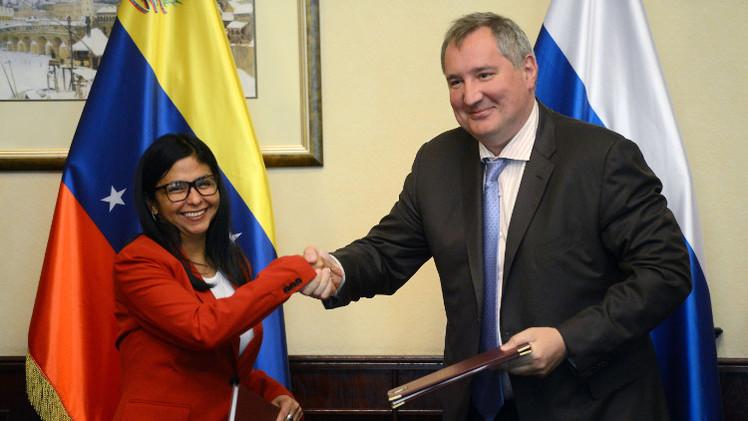 روغوزين: موسكو وكاراكاس تعارضان سعي بعض الدول لفرض هيمنتها