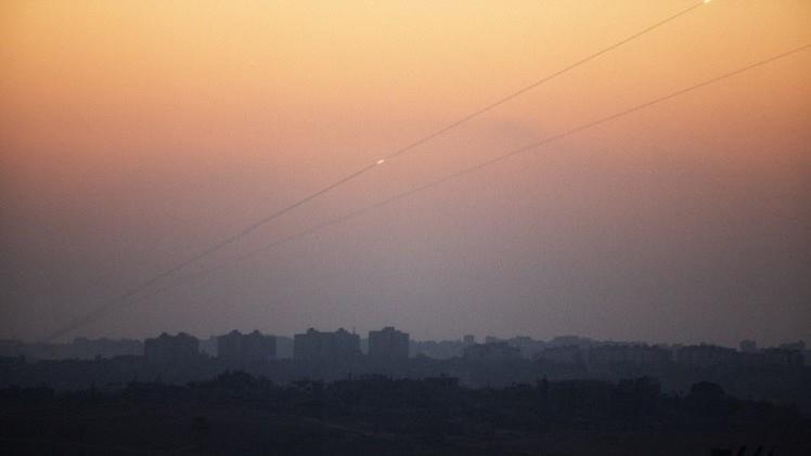 سقوط صاروخ من غزة على جنوب إسرائيل