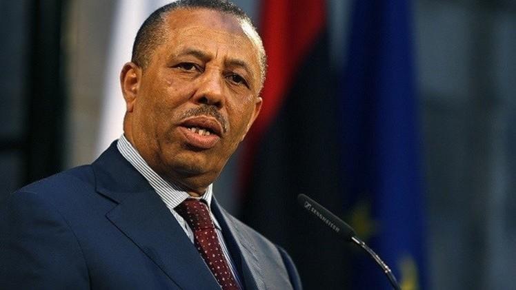 رئيس الوزراء الليبي الثني يقول إنه نجا من محاولة اغتيال