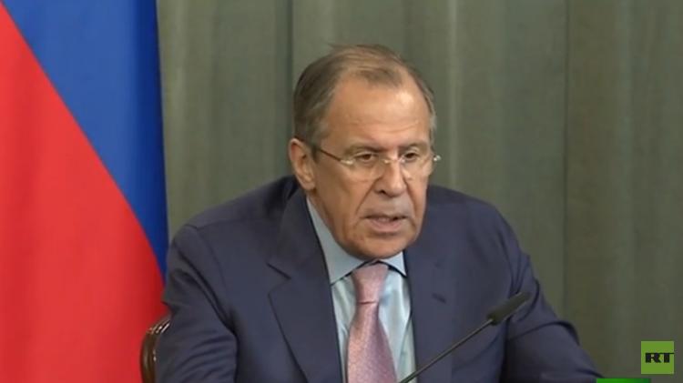 لافروف يدعو لتطبيق اتفاقات مينسك بالكامل عبر الحوار المباشر بين طرفي النزاع الأوكراني