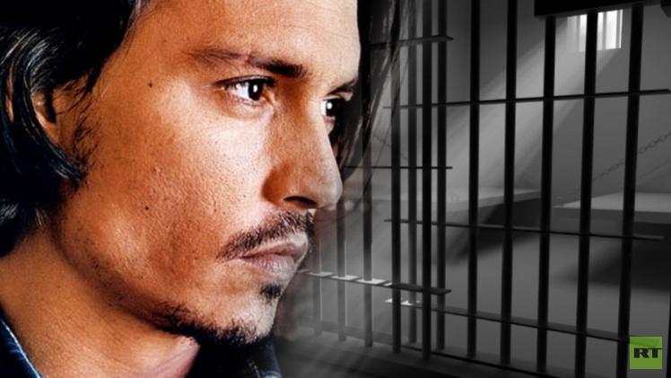 جوني ديب مهدد بالسجن عشر سنوات في أستراليا