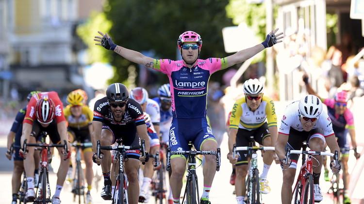 ساشا مودولو بطلا للمرحلة 17 من سباق إيطاليا