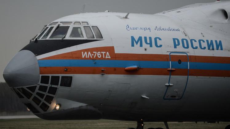 طائرة مساعدات إنسانية روسية جديدة إلى سوريا