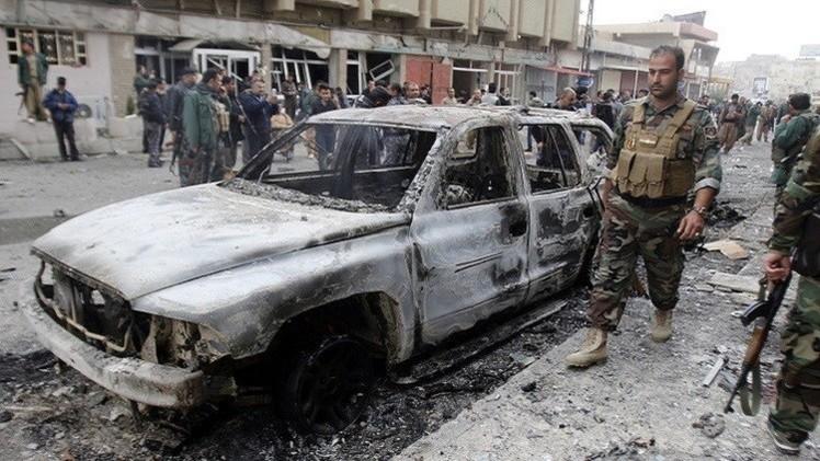 مقتل 10 أشخاص وجرح نحو 30 في تفجيرات ضربت بغداد (فيديو)