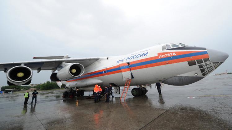 طائرة روسية تجلي 80 شخصا من سوريا
